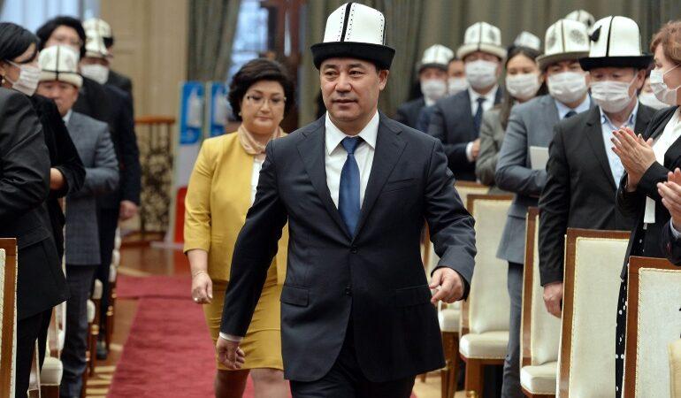 Президент Садыр Жапаровдун өлкө соттору менен жолугушуусу