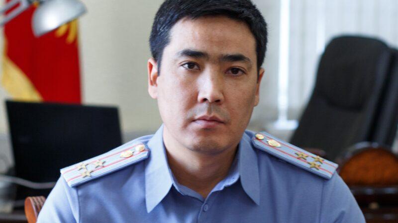 Самат Курманкуловго милициянын генерал-майору наамы ыйгарылды