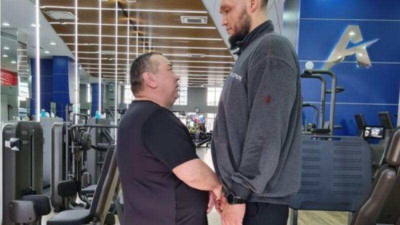 Экс-мэр Балбак Түлөбаев спорт менен достошту