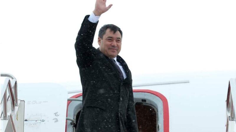 Садыр Жапаров Кыргызстанга кайтып келди