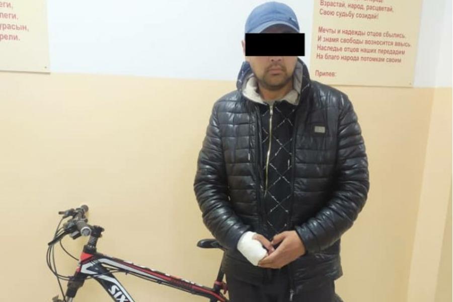 Бишкекте велосипед уурдаган жаран кармалды