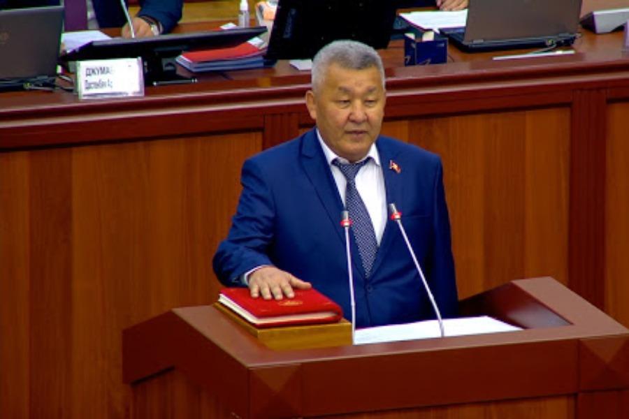 Эми «Кыргызстан» фракциясына Бейшеналы Нурдинов лидерлик кылат