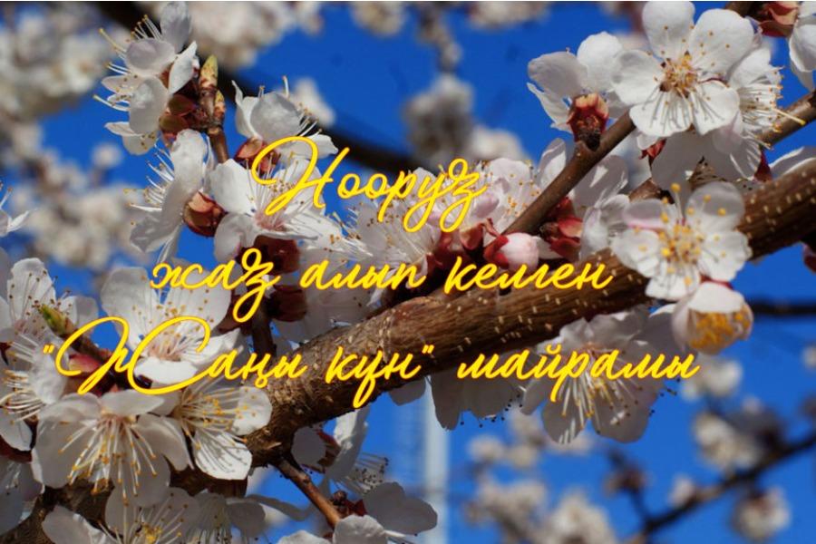 Жогорку сот кыргызстандыктарды Нооруз майрамы менен куттуктады