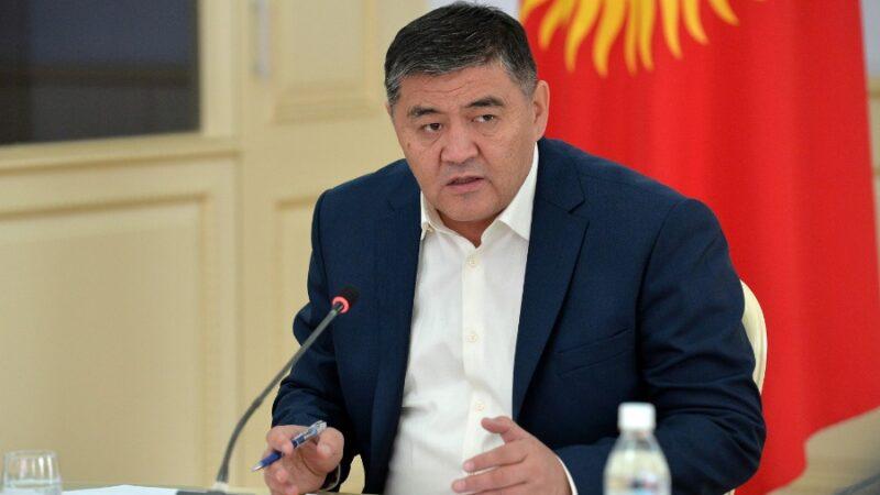 Ташиев: «УКМКнын бир дагы кызматкери коррупционерлерден пара албайт!»