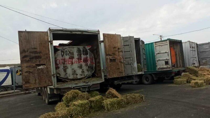 40 тонна күйүүчү май ташып бара жаткандар кармалды
