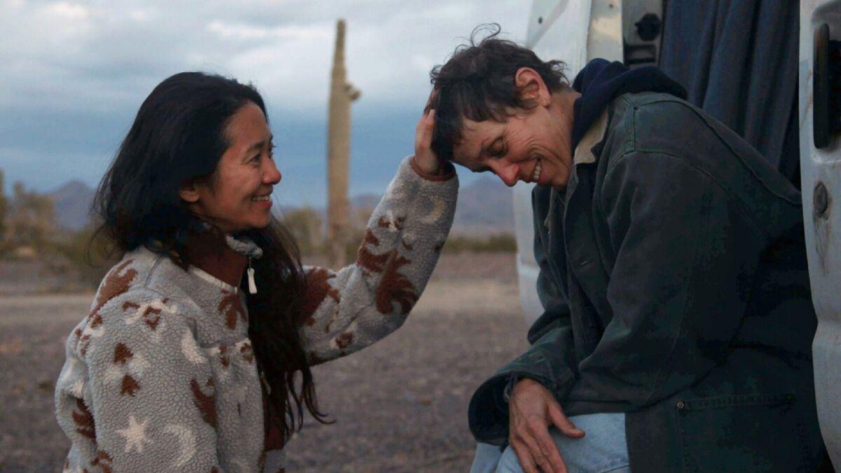 «Оскар» сыйлыгын Азиялык режиссёрдун «Көчмөндөрдүн жери» тасмасы жеңип алды