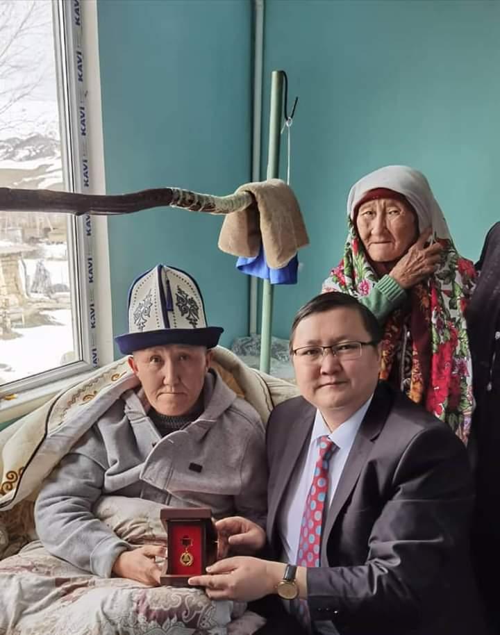 Малик Аликеевге «эмгек сиңирген артист» наамы ыйгарылды