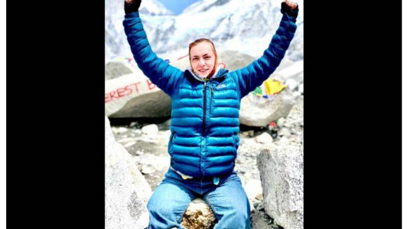 Айымдар арасында биринчи жолу Эверест чокусун багындырган майып кыз