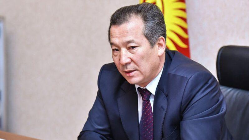 Бактыбек Аманбаев Кыргызстандын АКШдагы Элчиси болуп дайындалды