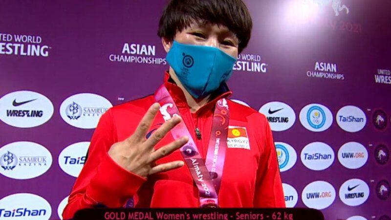 Айсулуу Тыныбекова IV жолу Азия чемпиону аталды
