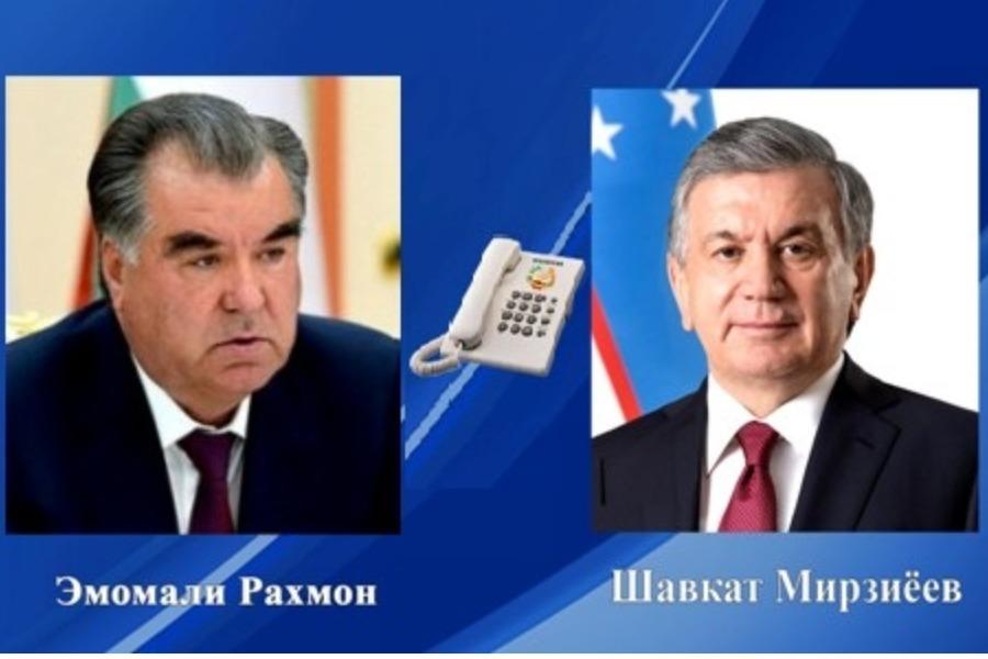 Тажикстан менен Өзбекстандын президенттери чек ара чырын талкуулашты