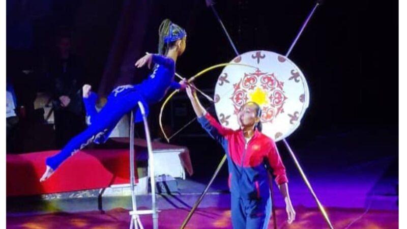 Кыргызстандык гимнаст Аина Маратова Ташкенттеги фестивалда алтын медаль утту
