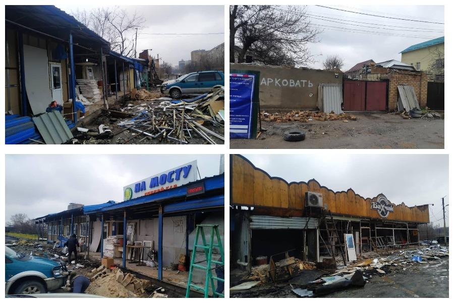 Бишкекте мыйзамсыз объектилерди тазалоо иштери жүрүүдө
