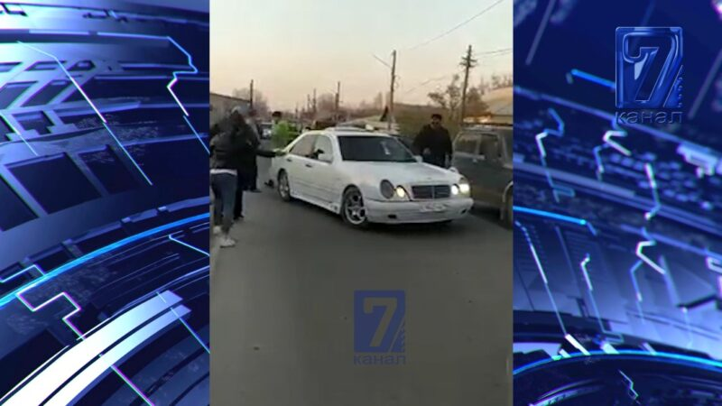 Бишкекте дагы бир айым белгисиз эркек тарабынан зомбулукка кабылды (видео)