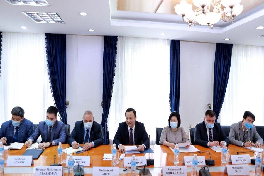 ТИМ Кыргызстандагы араб кайрымдуулук уюмдарынын жетекчилери менен жолугушту