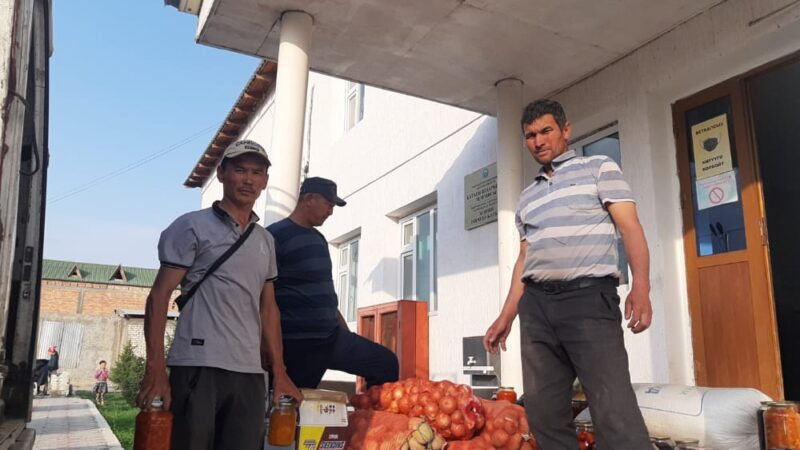 #БАТКЕН_ЭЛИНЕ_ЖАРДАМ! Кадамжайдын Ноогардан айылы 80 миң сом берди