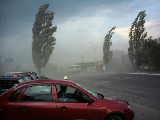 ӨКМ: Бүгүн кеч Бишкекте катуу шамал болот