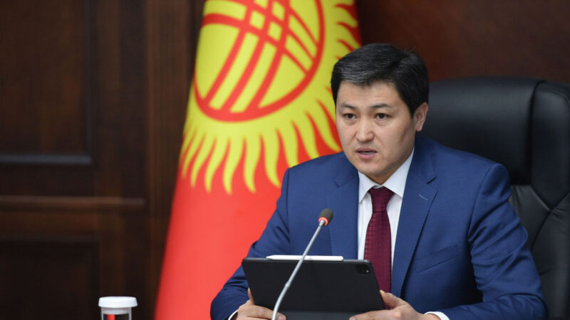 Улукбек Марипов Кыргыз Республикасынын Министрлер Кабинетинин төрагасы болуп дайындалды