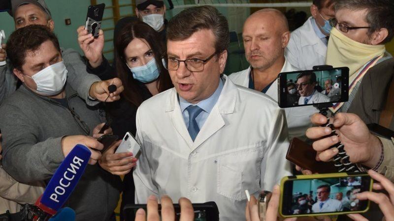 Россияда башкы дарыгер дайынсыз жоголду, ал Навальныйды уулануудан сактап калган