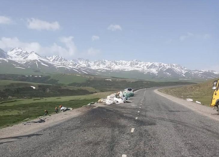 Бишкек – Ош трассасында катталган жол кырсыгында төрт адам каза болду
