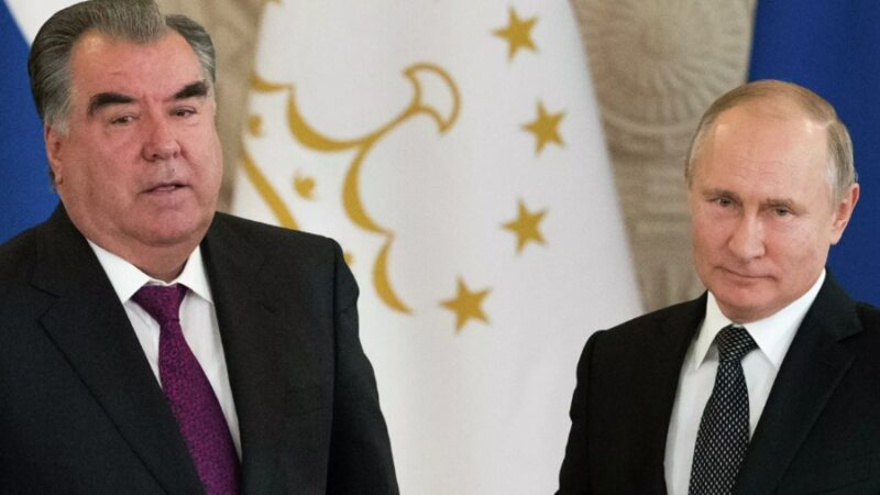Путин менен Эмомали Рахмон жолугуп, кыргыз-тажик чек ара чырын талкуулашат
