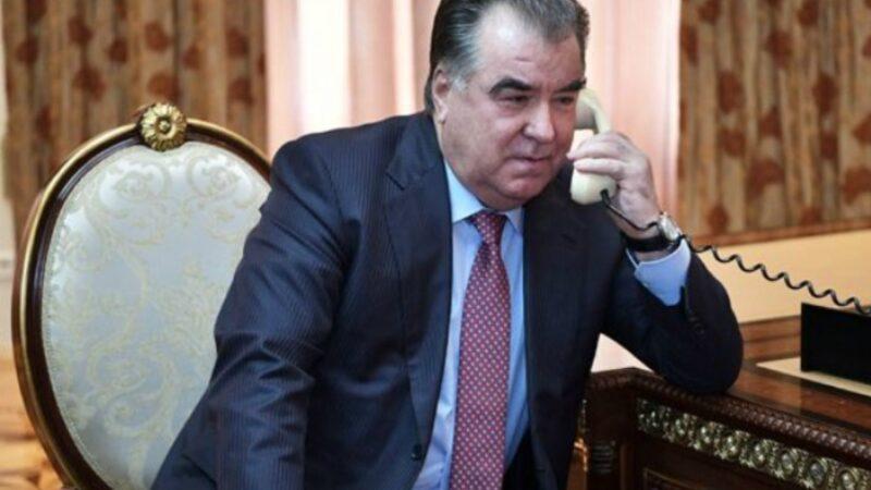 Эмомали Рахмон кыргыз элине тынчтык жана туруктуулук каалады