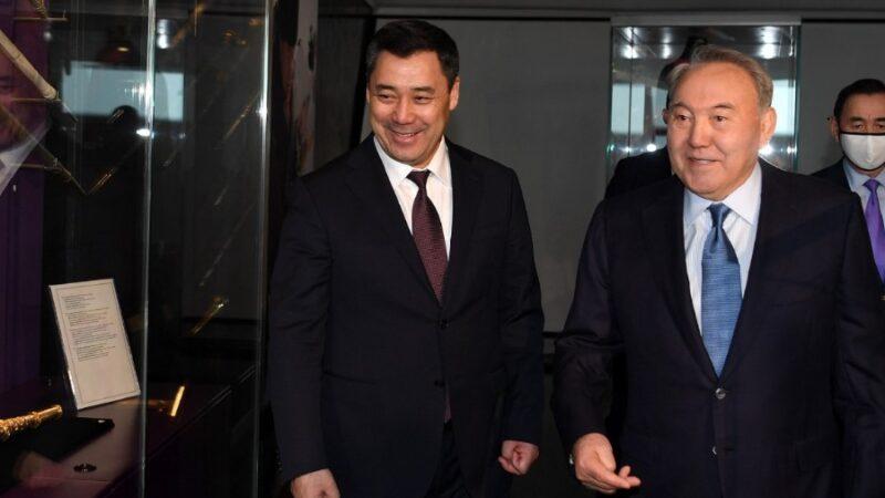 Казакстандын туңгуч президенти Назарбаевдин кыргыз элине жолдогон куттуктоосу