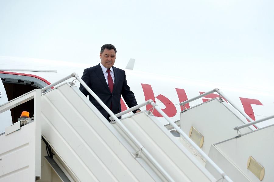 Президент Садыр Жапаров Сочиге келди