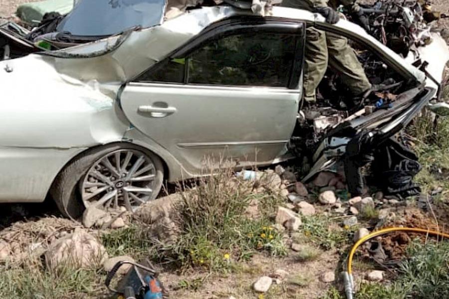 Бишкек- Ош унаа жолундагы жол кырсыктан каза болгондордун саны 5 адамга жетти