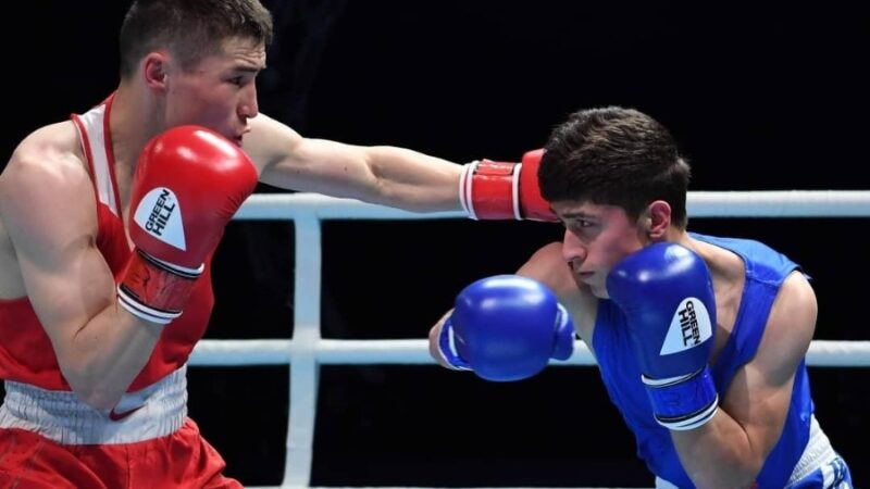 Азия чемпионатында Кыргызстандык боксчулар 4 коло медаль жеңди