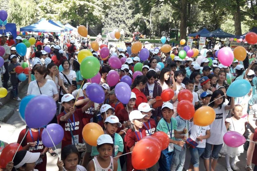 Балдарды коргоонун эл аралык күнүнө карата концерт жана акция өтөт