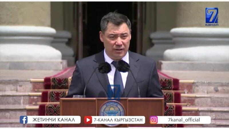 Жапаров: Ишинин жыйынтыгы чыгып жаткан жалгыз министр ушул ( Алымкадыр Бейшеналиев)