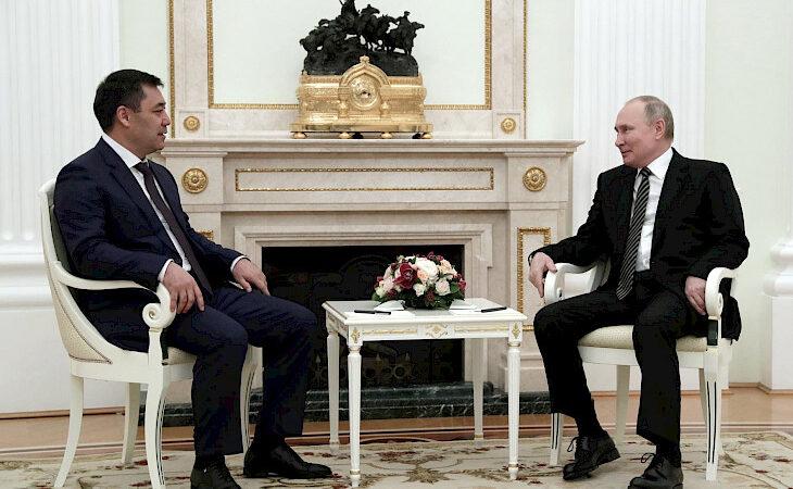 Путин 24-май Садыр Жапаров менен Сочиде жолугаарын билдирди