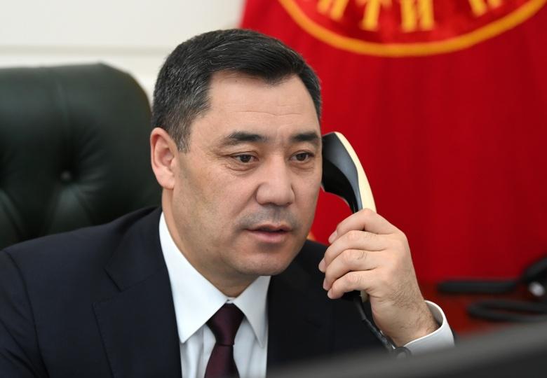 Жапаров Сауд Арабия падышасын Кыргызстанга расмий сапарга чакырды