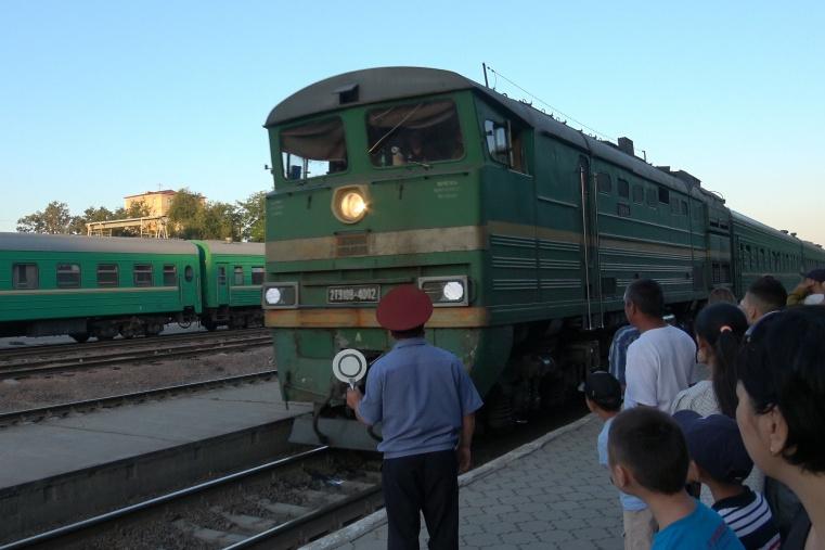 Бишкек-Балыкчы поезди 18-июндан жүрө баштайт, жол акы 69 сом