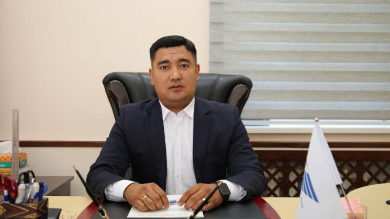 «Кыргыз темир жолу» ишканасына Азамат Сакиев жетекчи болуп дайындалды