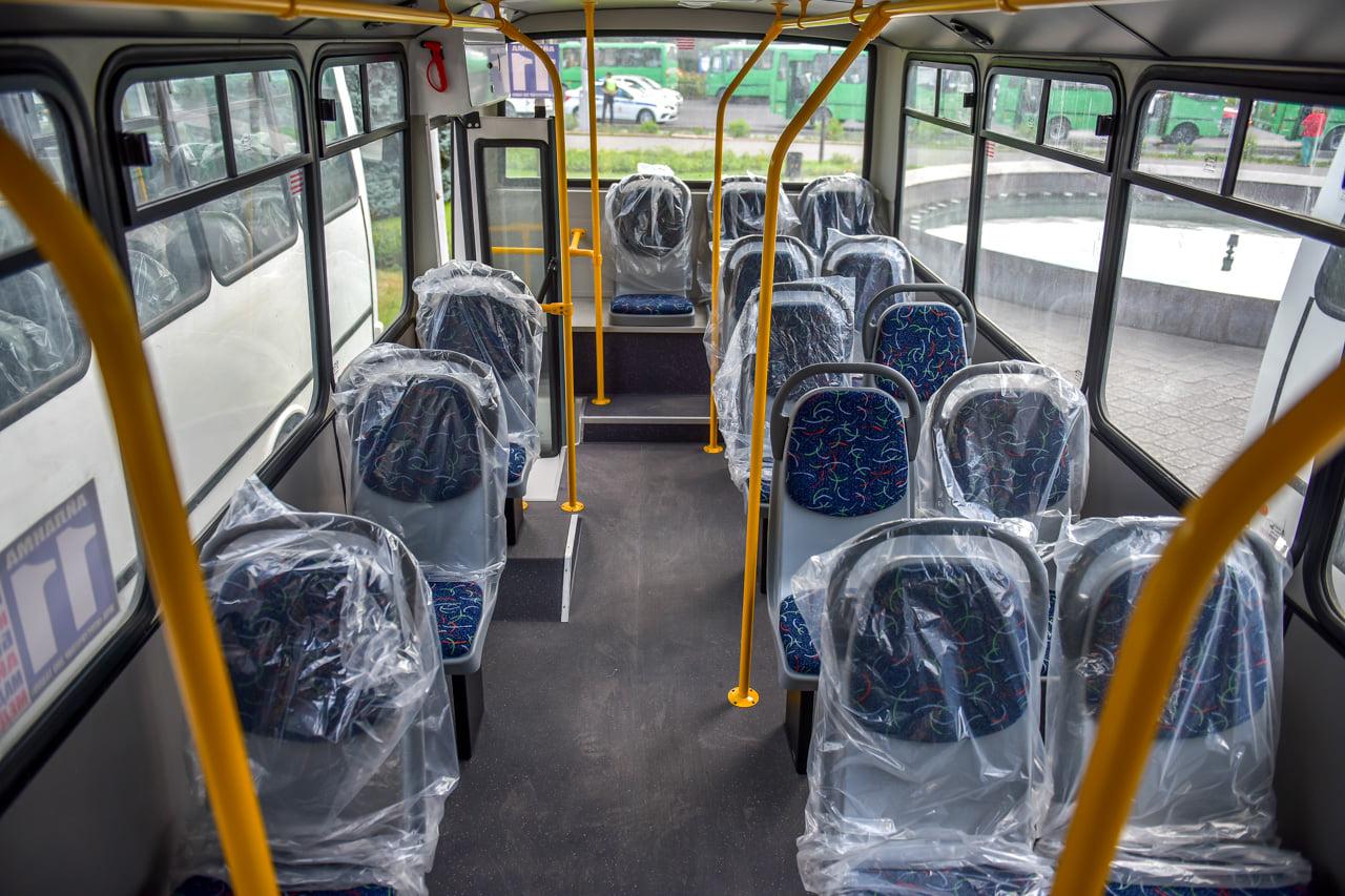 Бишкекте жаңы автобустар бир жума акысыз каттайт, кайсы каттамга коюлду?