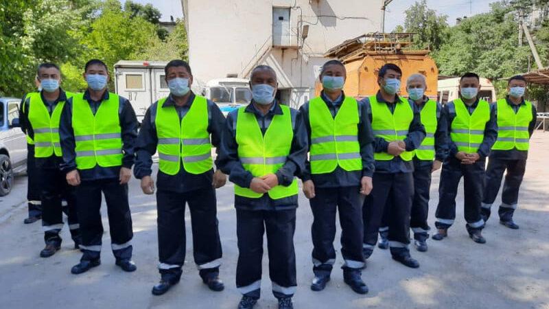 Бишкек троллейбус башкармалыгы кызматкерлерине бирдиктүү форма берилди