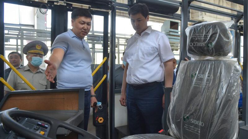 Жакында Бишкекте электро автобустар кураштырылып чыга баштайт