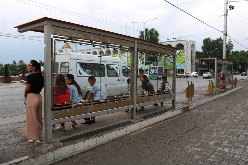 Бишкекте маршрутка айдоочулары кайрадан иш таштады, мэриянын убадасы
