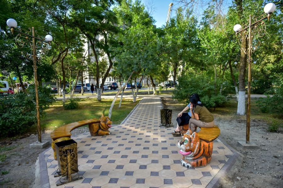 Бишкекте демөөрчүнүн көмөгүндө эс алуу паркы ачылды