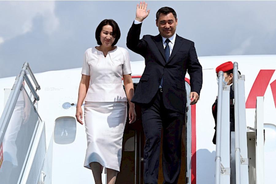 Президент Садыр Жапаров Анкара шаарына келди