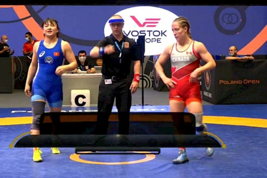 Мээрим Жуманазарова Poland Open мелдешинде коло медалдын ээси болду