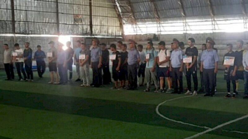 Жалал-Абадда улуттар аралык ынтымакты бекемдѳѳгѳ багытталган кичи футбол өткөрүлдү
