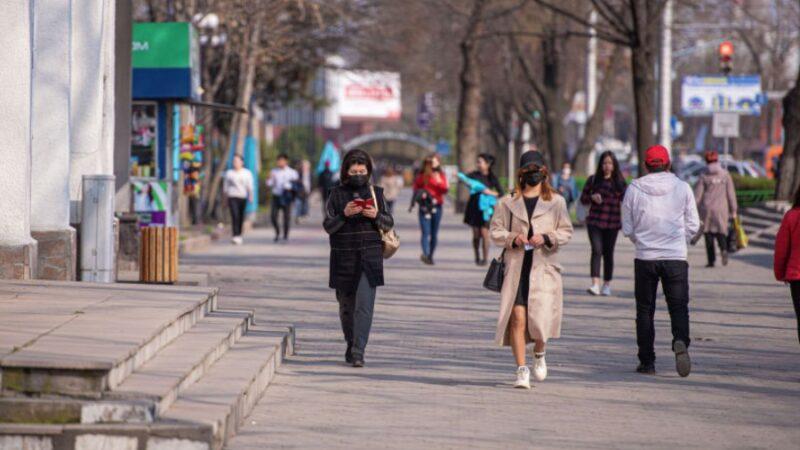 Кыргызстанда коронавирустун үчүнчү толкуну башталганы байкалып жатат