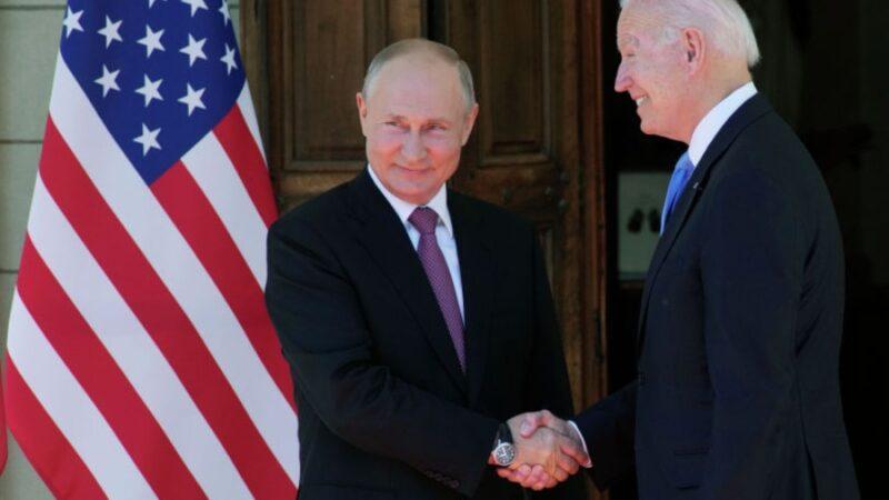 Путин менен Байден Женева шаарында жолугушту