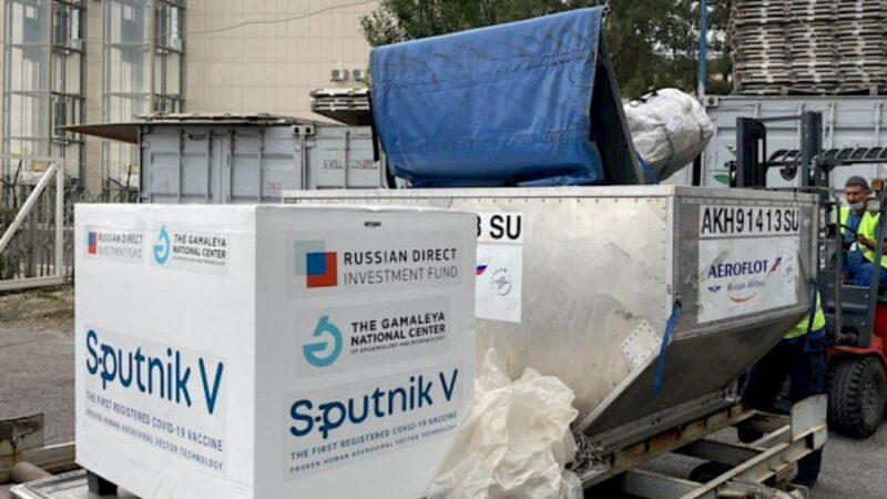 """Спутник V"" вакцинасынын 80 миң дозасы Кыргызстанга келди"