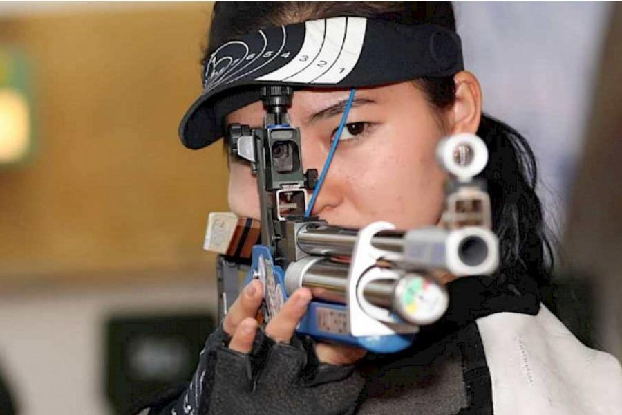 Ок атуу спортунун чебери Каныкей Кубанычбекова Олимпиада оюндарына жолдомо алды