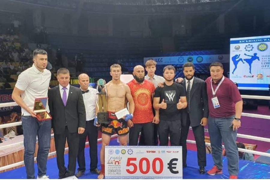 Аброр Хакимов «Кикбоксинг» боюнча эл аралык турнирде жеңишке жетти