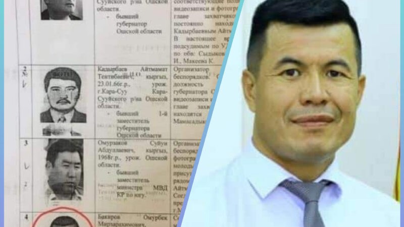 Депутат Бакиров соттолгондугу  тууралуу макалага жооп жазды